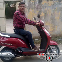 Suzuki Access Scooter user review by Shakhawat Hossain