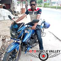 TVS Apache RTR 160 user review by Sohel Rana