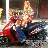 TVS Wego Scooter 4000km riding experiences by Hafiza Khatun