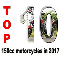 Top 10 150cc motorcycles in 2017