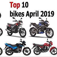 Top 10 bikes April 2019