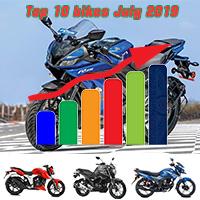 Top 10 bikes July 2019