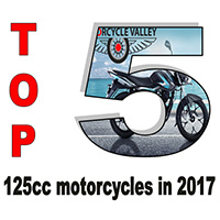 Top 5 125cc motorcycles in 2017