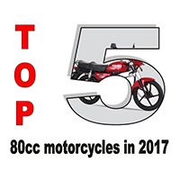 Top 5 80cc motorcycles in 2017