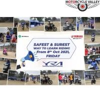 YRA (Yamaha Riding Academy) Started its Program Again