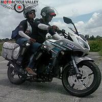 Cooperation was spontaneous as a biker couple: Alamgir-Depali