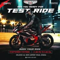 GPX Demon GR165R Test Ride Event