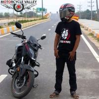Honda X Blade 7400km riding experiences by Sakib Salim