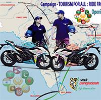 Biker Couple Alamgir & Depali about to travel SAARC