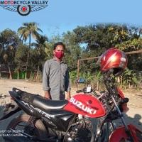 Suzuki Hayate Special Edition 8000km  riding experiences by Ashraful Aalm
