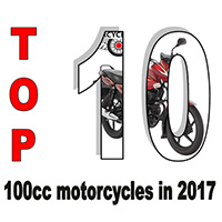 Top 10 100cc motorcycles in 2017