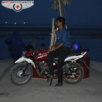 TVS Max 2600km riding experiences by Piuze Gomez