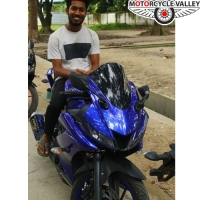 Yanaha R15 V3 Racing Blue User Review 8000km by Reshan