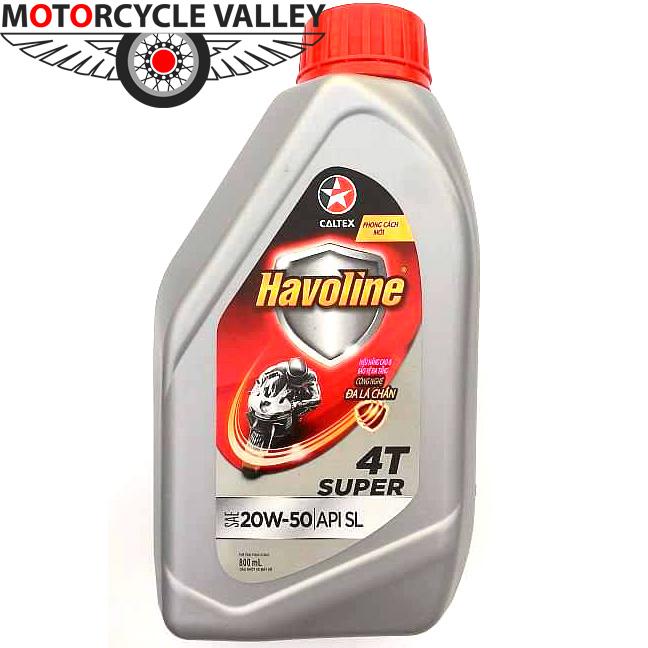 Caltex Havoline Super 4T 20W50
