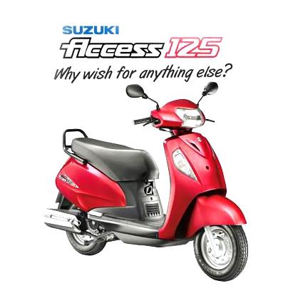 Suzuki Access 125 Drum