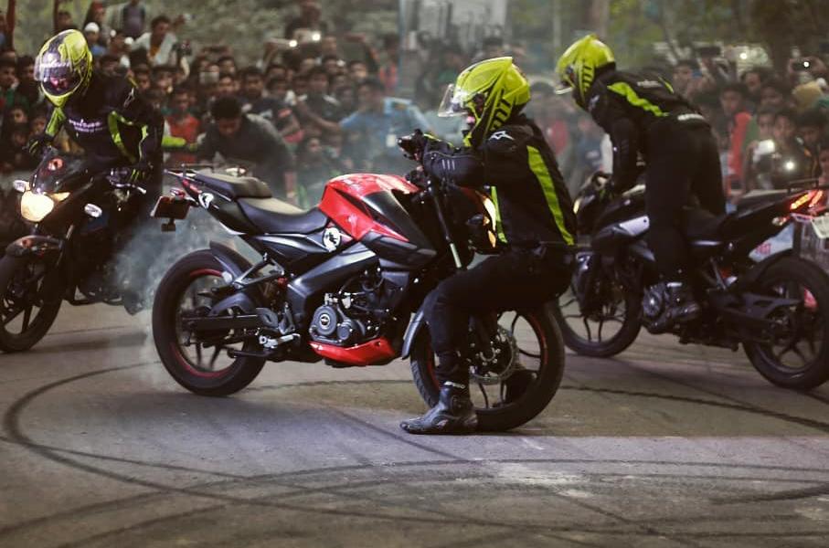 Bajaj Pulsar StuntMania 2019 Show